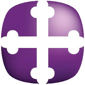 St. Martins Cross Purple