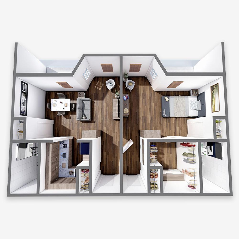 Deluxe One Bedroom Suite - The Arbors