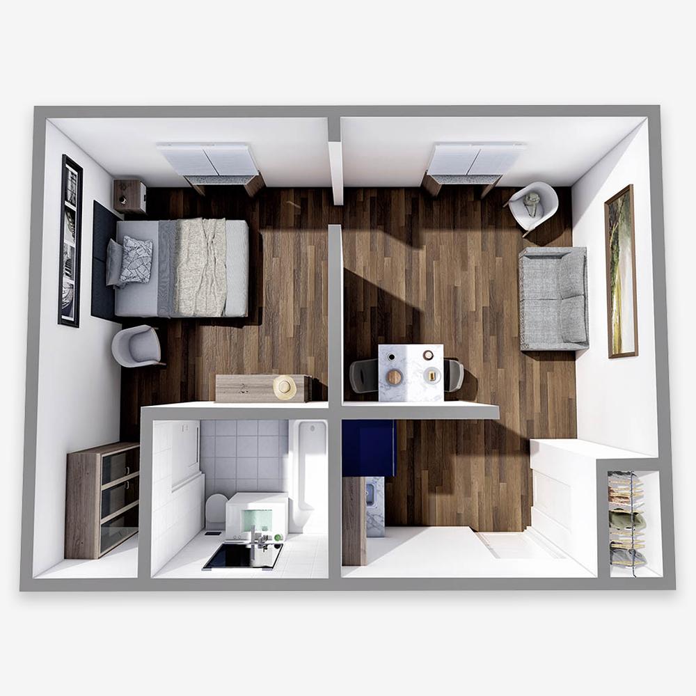 One Bedroom - Woodside Place