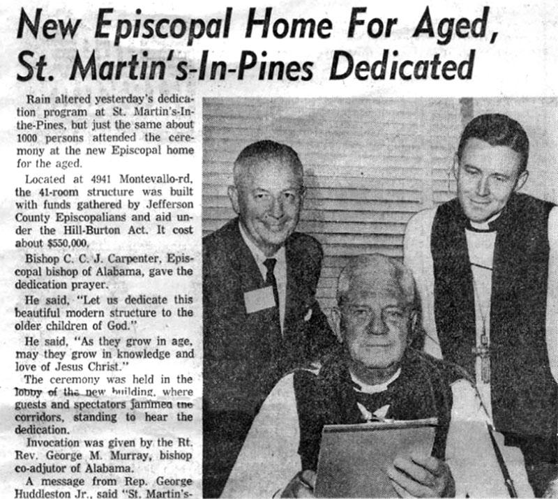 1959 – Dedication