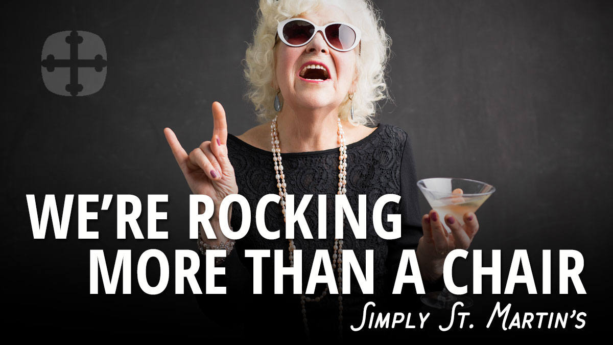 We're rocking more than a chair