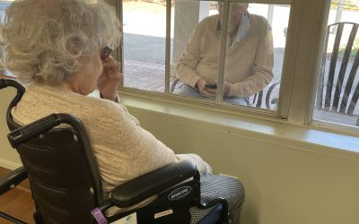 Staying connected to senior loved ones from afar